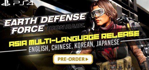 Earth Defense Force: Iron Rain, Multi-Language, PlayStation 4, Asia, PS4, release date, price, gameplay, features, English