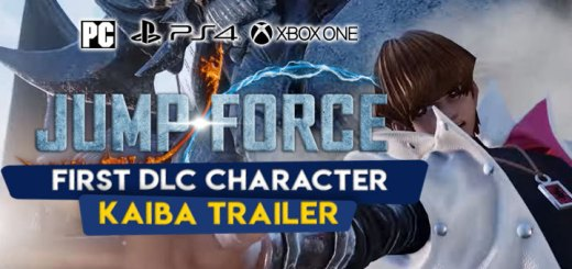 Jump Force, PlayStation 4, Xbox One, price, features, US, North America, Europe, update, news,  DLC, Seto Kaiba, Kaiba trailer, new trailer, first DLC character