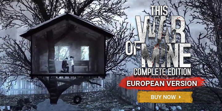 This War of Mine, This War of Mine [Complete Edition], Nintendo Switch, Switch, US, THQ Nordic