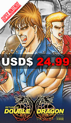RETURN OF DOUBLE DRAGON Retroism