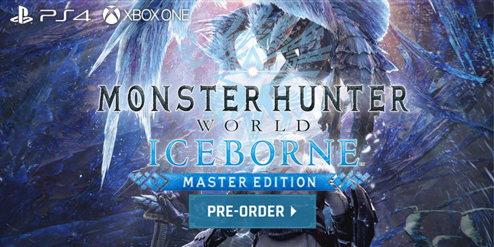 Monster Hunter World: Iceborne Master Edition, Monster Hunter World, Master Edition, PlayStation 4, Xbox One, North America, US, Japan, release date, gameplay, features, price, game, Capcom, pre-order