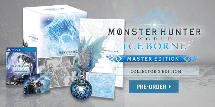 Get the Collector's Edition - Monster Hunter World: Iceborne