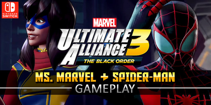 europe, us, north america, japan, features, price, gameplay, pre-order, nintendo, nintendo switch, switch, Marvel Ultimate Alliance 3: The Black Order, release date, update, news, new gameplay, marvel, spider-man