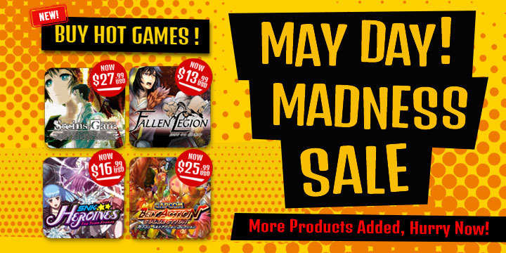 Amiibo, PS4, PlayStation 4, PS VITA, PlayStation Vita, Switch, Nintendo Switch, Xbox One, discounts, free shipping, games, hot items, hot picks, madness sale, may day sale, nintendo, on sale, playasia, sale, Top 10, up to 90% off, XONE