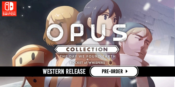 OPUS, OPUS Collection, OPUS: The Day We Found Earth, OPUS: Rocket of Whispers, Flyhigh Works, Nintendo Switch, Switch, US, Western localization, Western release