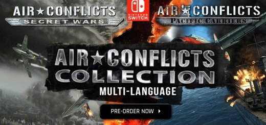 Air Conflicts Double Pack, Air Conflicts Collection, Multi-language, Air Conflicts Secret Wars, Air Conflicts Pacific Carriers, エアコンフリクト コレクション, H2 Interactive, Nintendo Switch, Pre-order, Switch