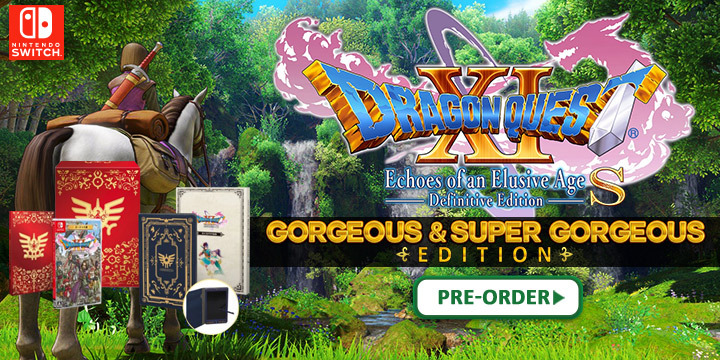 Dragon Quest XI: Sugi Sarishi Toki o Motomete S, Dragon Quest XI S Echoes of an Elusive Age Definitive Edition Gorgeous Edition, Dragon Quest XI S Echoes of an Elusive Age Definitive Edition Super Gorgeous Edition, special editions, Dragon Quest XI S, Dragon Quest XI: Echoes of an Elusive Age S - Definitive Edition, Dragon Quest XI: Echoes of an Elusive Age S, Nintendo Switch, Switch, Japan, release date, gameplay, features, Limited Edition