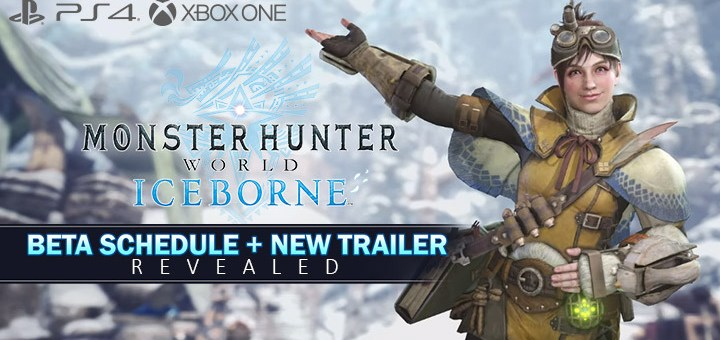 Monster Hunter World: Iceborne, Monster Hunter World: Iceborne Master Edition, Monster Hunter World, PlayStation 4, Xbox One, update, BETA, Handler Tour Trailer, A tour with the Handler, new trailer