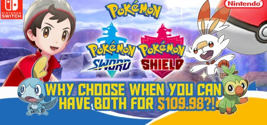 POKEMON SHIELD AND SWORD BUNDLE