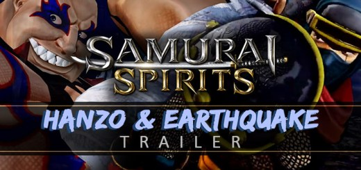 Samurai Spirits, Samurai Shodown, SNK, PS4, PlayStation 4, Japan, Europe, Asia, update, traler, Hanzo, Earthquake