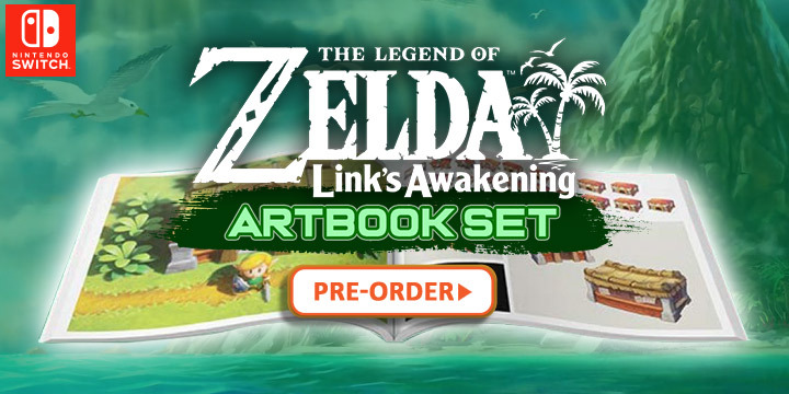 PRE-ORDER HERE | The Legend of Zelda: Link's Awakening