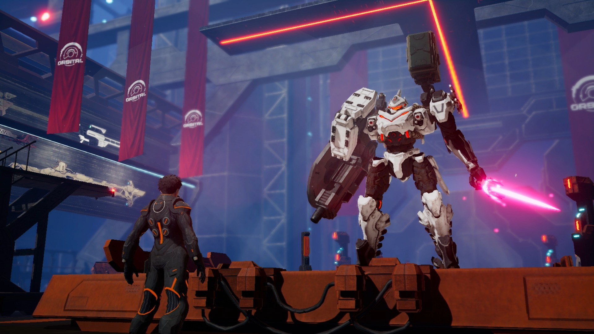 Daemon x Machina: Mech-Action Game Coming this September 13
