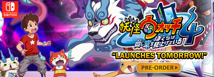 Yo-kai Watch 4, Yo-kai Watch 4: We're Looking Up at the Same Sky, Yo-kai Watch 4: We're Looking Up at the Same Sky, Nintendo Switch, Japan, Switch, release date, gameplay, features, price, trailer