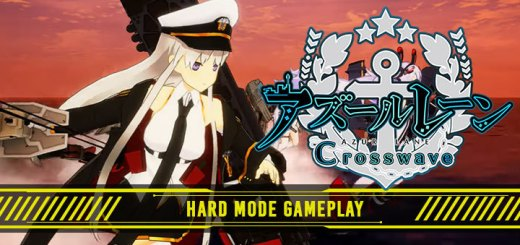Azur Lane: Crosswave, Compile Heart, Idea Factory, PS4, PlayStation 4, US, North America, West, Asia, Japan, update, Hard Mode