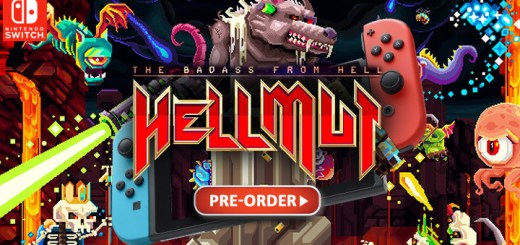 Hellmut: The Badass from Hell, Hellmut The Badass from Hell, Funbox Media, Nintendo Switch, Switch, PS4, release date, gameplay, features, price, pre-order, trailer, Europe
