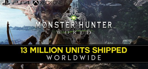 Monster Hunter, Monster Hunter: World, US, Europe, Japan, PS4, XONE, PlayStation 4, Xbox One, updates, sales