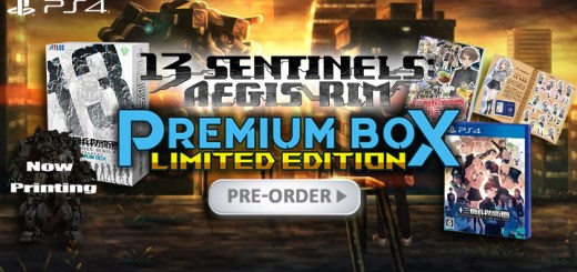 13 Sentinels: Aegis Rim, 13 Sentinels Aegis Rim Juusan Kihei Boueiken, 13 Sentinels: Aegis Rim Premium Box, 13 Sentinels: Aegis Rim Limited Edition, 13 Sentinels: Aegis Rim Premium Box Limited Edition, Limited Edition, Premium Box, PlayStation 4, PS4, release date, gameplay, features, price, pre-order, Atlus, Japan