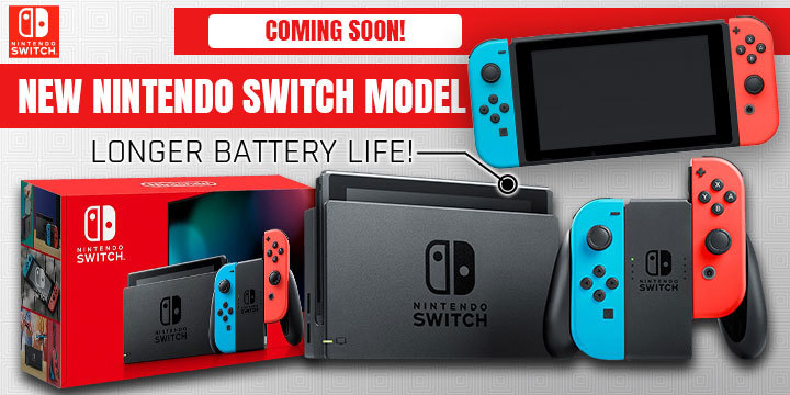 The New Nintendo Switch Model Features The Best Battery Life!