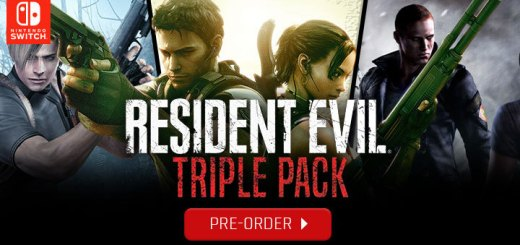 Resident Evil Triple Pack, Nintendo Switch, Switch, US, North America, release date, gameplay, features, price, pre-order, Capcom
