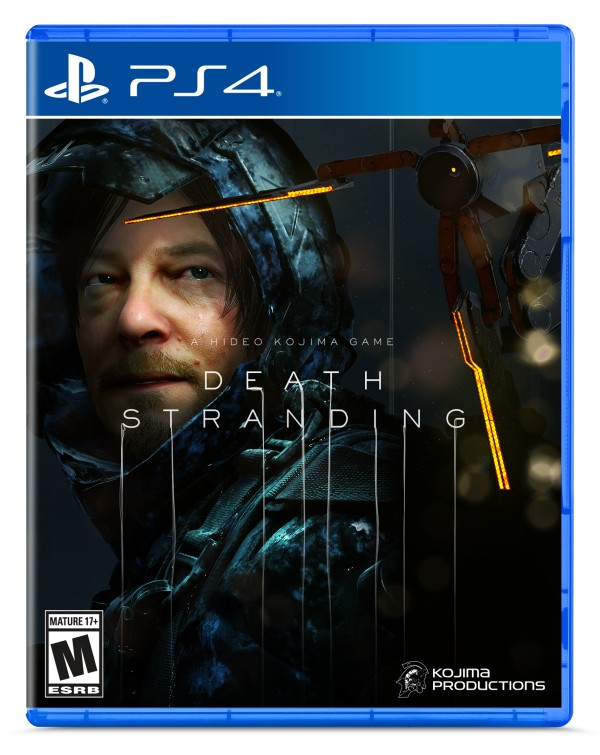 Death Stranding, PlayStation 4, North America, US, Europe, game, news, update, release date, box art, boxart
