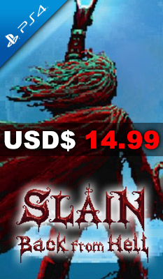SLAIN: BACK FROM HELL Merge Games