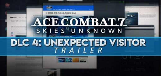 Ace Combat 7: Skies Unknown, Bandai Namco, PlayStation 4, PlayStation VR, Xbox One, PS4, PSVR, XONE, US, Europe, Japan, update, DLC, Unexpected Visitor, Season Pass