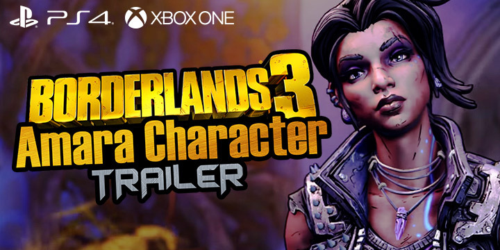 Borderlands 3: Introducing Amara in the Latest Trailer