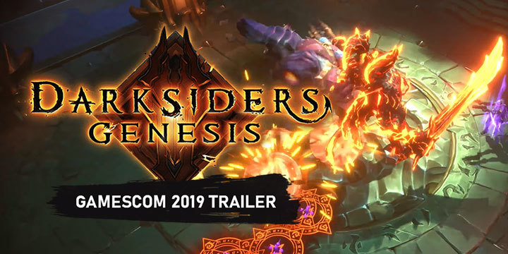 Darksiders, Darksiders: Genesis, PlayStation 4, Xbox One, Nintendo Switch, Windows PC, US, Europe, THQ Nordic, Pre-order, Collector's Edition, Nephilim Edition, gamescom 2019, trailer