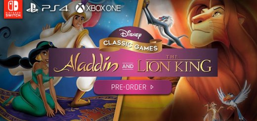 Disney Classic Games: Aladdin and the Lion King, Nighthawk Interactive, Nintendo Switch, Switch, PS4, PlayStation 4, Xbox One, XONE, release date, gameplay, features, price, pre-order, trailer, US, North America
