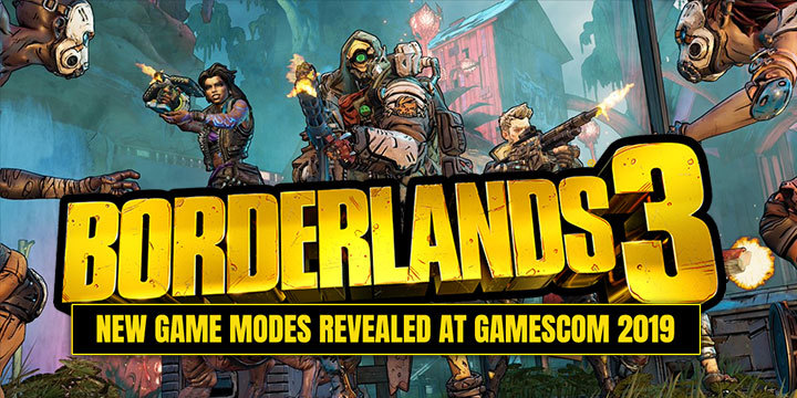 Borderlands 3, Borderlands, PS4, XONE, PlayStation 4, Xbox One, US, Europe, Australia, Japan, Asia, Chinese Subs, 2K Games, update, trailer, gameplay, screenshots, game modes, Proving Grounds, Circle of Slaughter, gamescom 2019