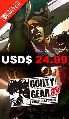 GUILTY GEAR [20TH ANNIVERSARY EDITION] (MULTI-LANGUAGE) H2 Interactive