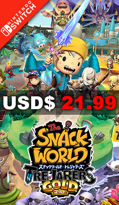 THE SNACK WORLD: TREJARERS GOLD Level 5