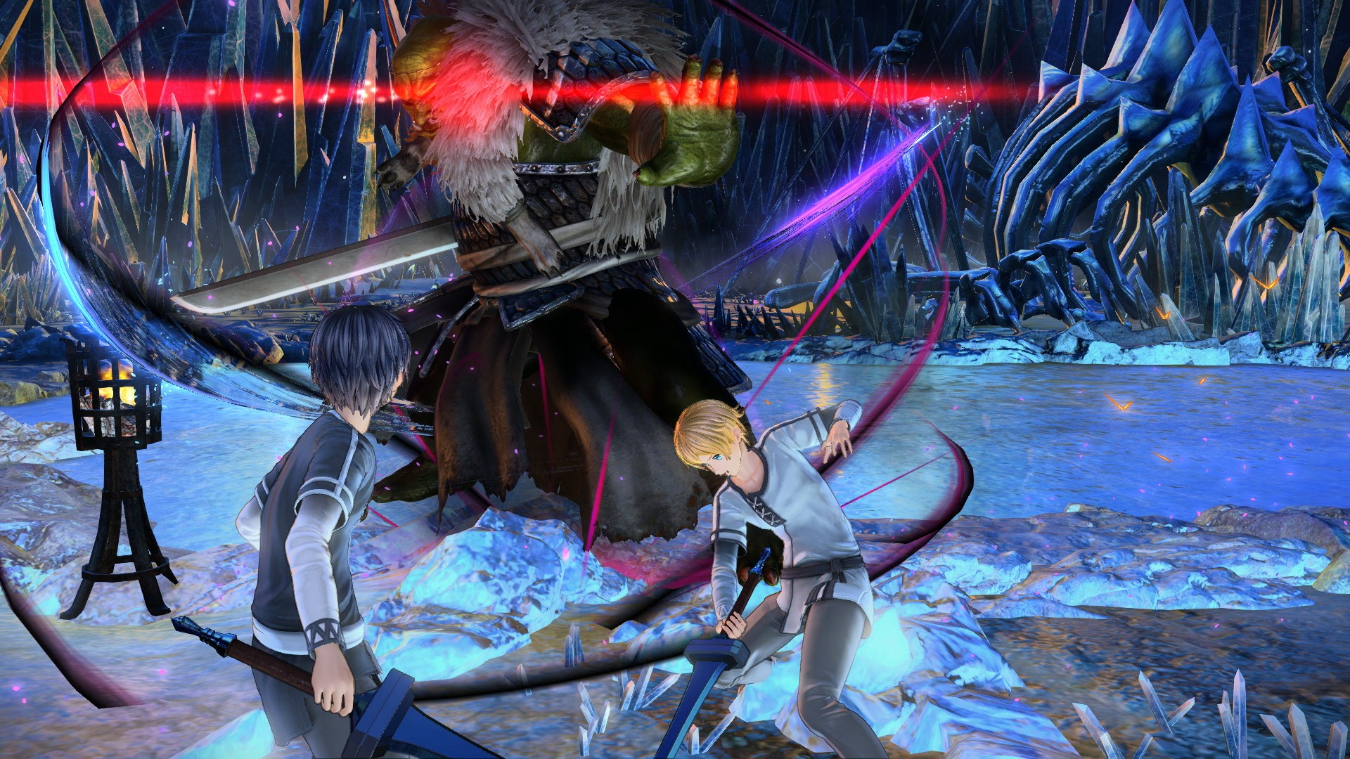 Sword Art Online: Alicization Lycoris, SAO: Alicization Lycoris, Bandai Namco, japan release date, gameplay, us, north america, features, ps4, playstation 4, xbox one, new cutscenes, alice and asuna first encounter, Eugeo's restraint