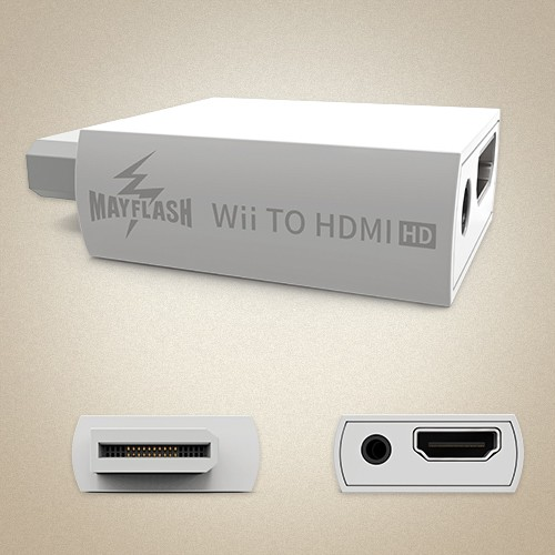 Mayflash Wii To HDMI Converter wii to hdmi converter, nintendo, wii,wii u, release date, features, price, pre-order,electronics, adapter converter, mayflash