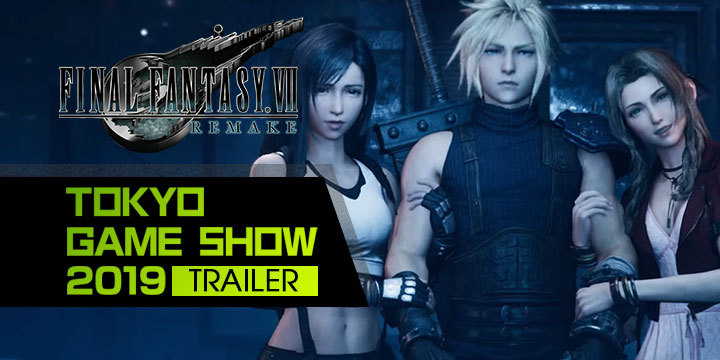 Final Fantasy, Final Fantasy VII Remake, Square Enix, PS4, PlayStation 4, release date, features, price, pre-order, Japan, Europe, US, North America, AU, Australia, TGS2019, tokyo game show 2019, new trailer, update, news