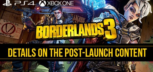 Borderlands 3, Borderlands, PS4, XONE, PlayStation 4, Xbox One, US, Europe, Australia, Japan, Asia, Chinese Subs, 2K Games, update, post-launch content, DLC