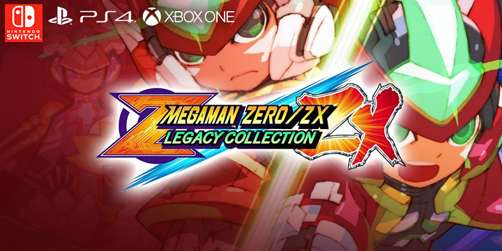 Mega Man Zero / ZX Legacy Collection Coming on January 2020