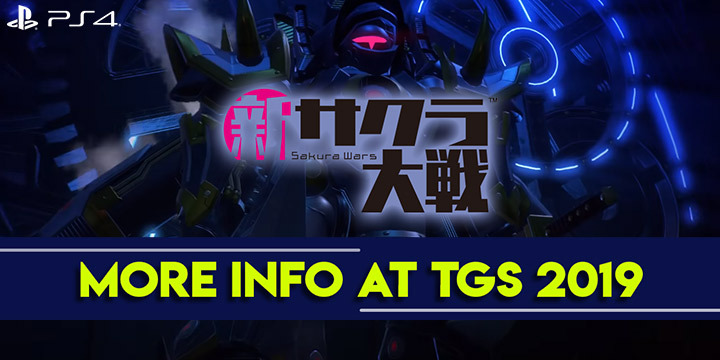 Project Sakura Wars, Sakura Wars, Shin Sakura Taisen, Japan, Asia, Chinese Subs, PS4, PlayStation 4, Sega, Pre-order, update, TGS 2019, Tokyo Game Show 2019