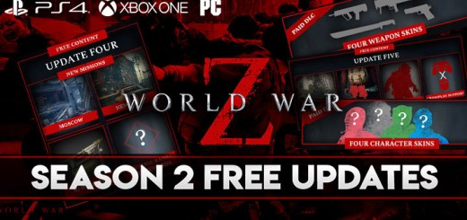 World War Z, PS4, XONE, PlayStation 4, Xbox One, US, Europe, Mad Dog Games, update, DLC, Season two