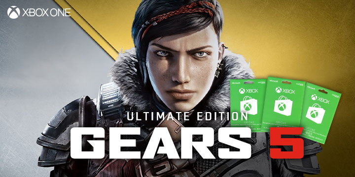 Get Your HK Xbox Gift Cards To Enjoy Gears 5 Ultimate Edition!