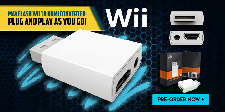 Mayflash Wii To HDMI Converter wii to hdmi converter, nintendo, wii, release date, features, price, pre-order,electronics, adapter converter, mayflash