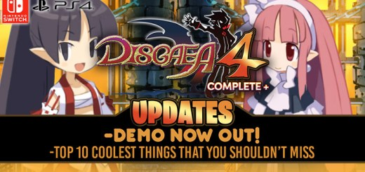 Disgaea, Disgaea 4, Disgaea 4 Complete+, PS4, Switch, PlayStation 4, Nintendo Switch, US, Europe, Australia, Japan, Pre-order, NIS America, Nippon Ichi Software, Makai Senki Disgaea 4 Return, 魔界戦記ディスガイア4 Return, Disgaea 4: A Promise Revisited, demo, new trailer, news, update