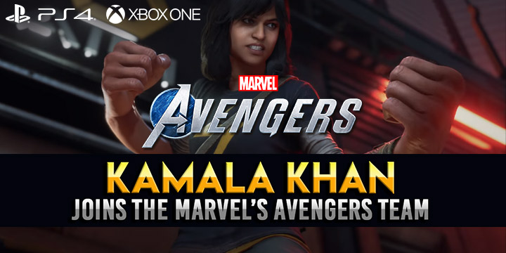 marvel's avengers, marvel's avengers game, nintendo switch, ps4, playstation 4, north america, us, eu, europe, au, australia, pre-order, gameplay, features, price, square enix, new playable character, kamala khan, crystal dynamics
