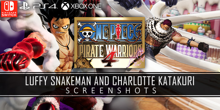 One Piece Pirate Warriors 4 Newly Released Screenshots