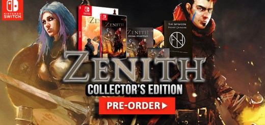 Zenith, Zenith Collector's Edition, Nintendo Switch, Switch, Europe, release date, gameplay, features, price, pre-order, physical release, physical