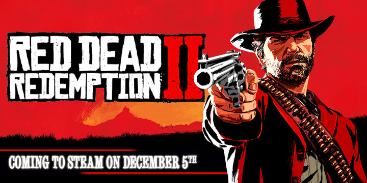 Red Dead Redemption, Red Dead Redemption 2, PS4, XONE, US, Europe, Japan, Australia, Asia, gameplay, features, Rockstar Games, Red Dead Redemption II, updates, PC, steam