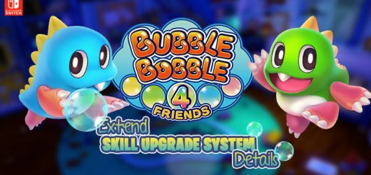 Bubble Bobble 4 Friends, 泡泡龍 4 伙伴, Nintendo Switch, Switch, Asia, English, English Subtitles, Europe, Special Edition, update, EXTEND, details