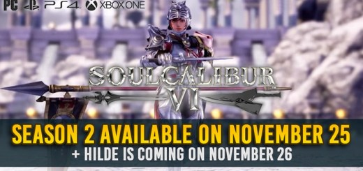 SoulCalibur, SoulCalibur VI, PS4, XONE, PlayStation 4, Xbox One, Us, Europe, Australia, Japan, Asia, update, DLC, Season Pass, Season 2, Hilde, DLC, release date