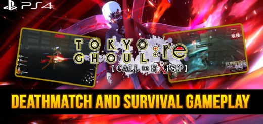 Tokyo Ghoul: re Call to Exist, ps4, playstation 4 ,asia,japan,australia, us, north america, europe release date, gameplay, features, price, pre-order now, new gameplay, survival gameplay, deathmatch gameplay