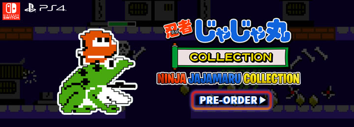 Ninja JaJaMaru Collection, ps4, playstation 4 , xone, xbox one, , asia,japan, release date, gameplay, features, price, pre-order now, delayed for ps4 in japan